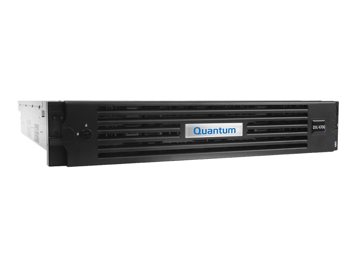 Quantum DXi4701 Disk Deduplication Appliance w 5TB Usable Capacity & NAS - Non-TPM (Restricted Countries), DDY47-CN01-005C