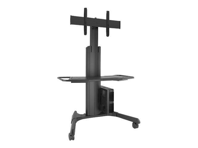 Chief Manufacturing Large Fusion Manual Height Adjustable Mobile Cart, LPAUB, 15131687, Computer Carts