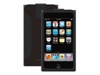 Belkin Eco-Conscious Leather Sleeve for iPod touch (2nd Gen), Black, F8Z369, 9085282, Protective & Dust Covers
