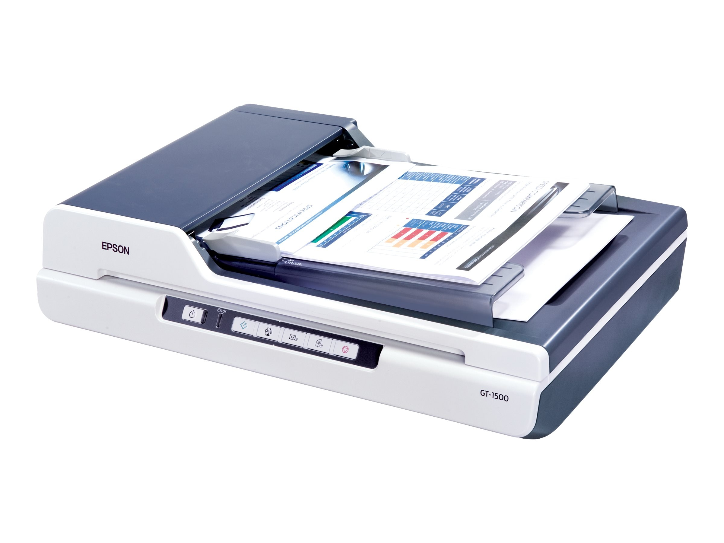 Epson WorkForce GT-1500 Flatbed LED Scanner