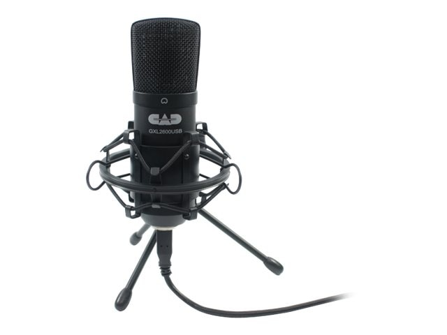 CAD Microphones Cardioid Condenser Microphone, GXL2600USB