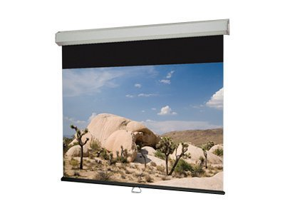 Draper Luma 2 Manual Projection Screen, HC Gray, 16:9, 133, 206077, 7162352, Projector Screens