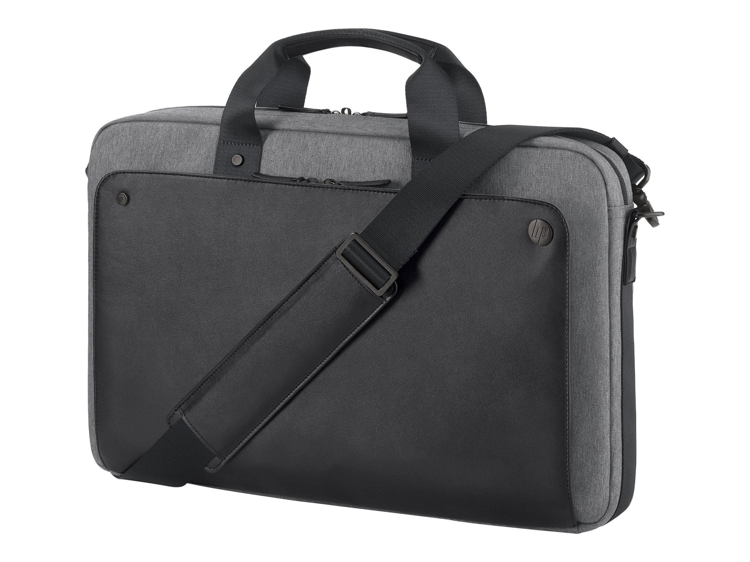 HP Executive Slim Top Load 15.6, Black, P6N20AA, 31842121, Carrying Cases - Notebook