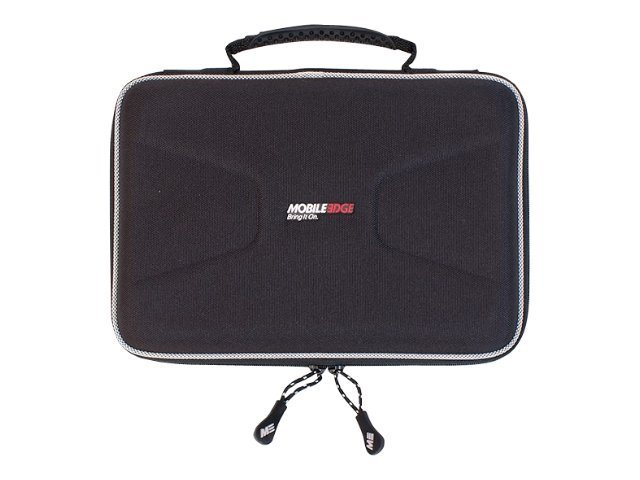 Mobile Edge TechStyle 9 Netbook EVA Case, Black, MEUVC-9, 10196318, Carrying Cases - Notebook