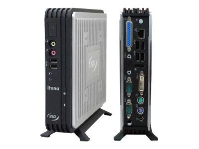 Vxl Itona Md29-F10R8 Thin Client VIA Eden U4200 1.0GHz 4GB RAM 16GB Flash GbE WES8, MD29-F10R8