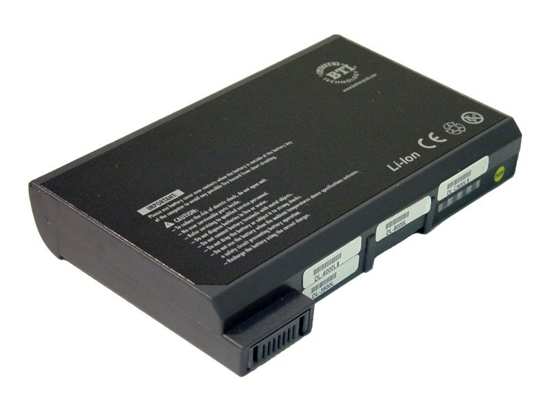 BTI Dell Inspiron 8000 Series Li-Ion Battery, DL-8000L, 246739, Batteries - Notebook