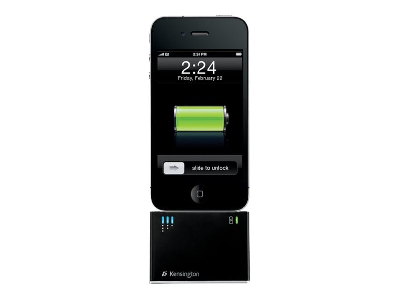 Kensington Charging Dock with Mini Battery Pack for iPhone and iPod