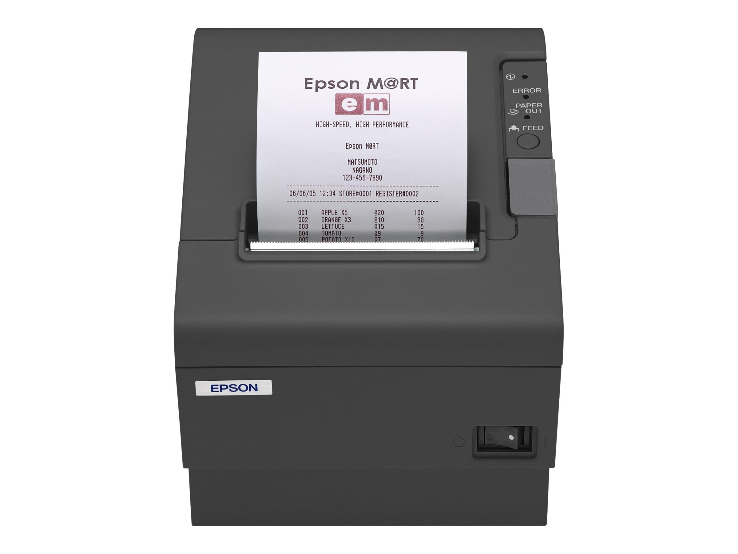 Open Box Epson TM-T88V-I Omnilink Thermal Label Printer w  TM-I Interface, C31CA85779, 15710101, Printers - POS Receipt