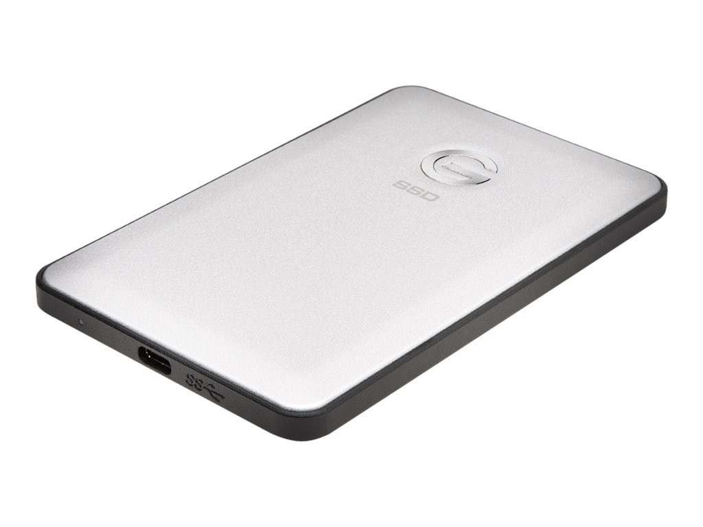 G-Technology 1TB G DRIVE Slim USB C External Solid State Drive, 0G05268