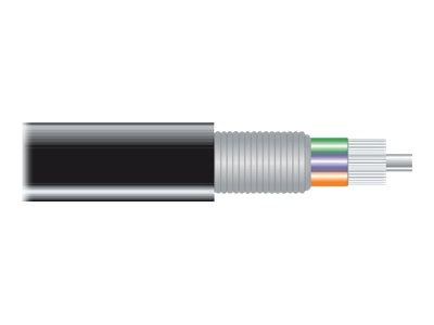 Black Box OM1 62.5 125 Multimode Outdoor Bulk Fiber Optic Cable, FOBC35ODAM1BK24F