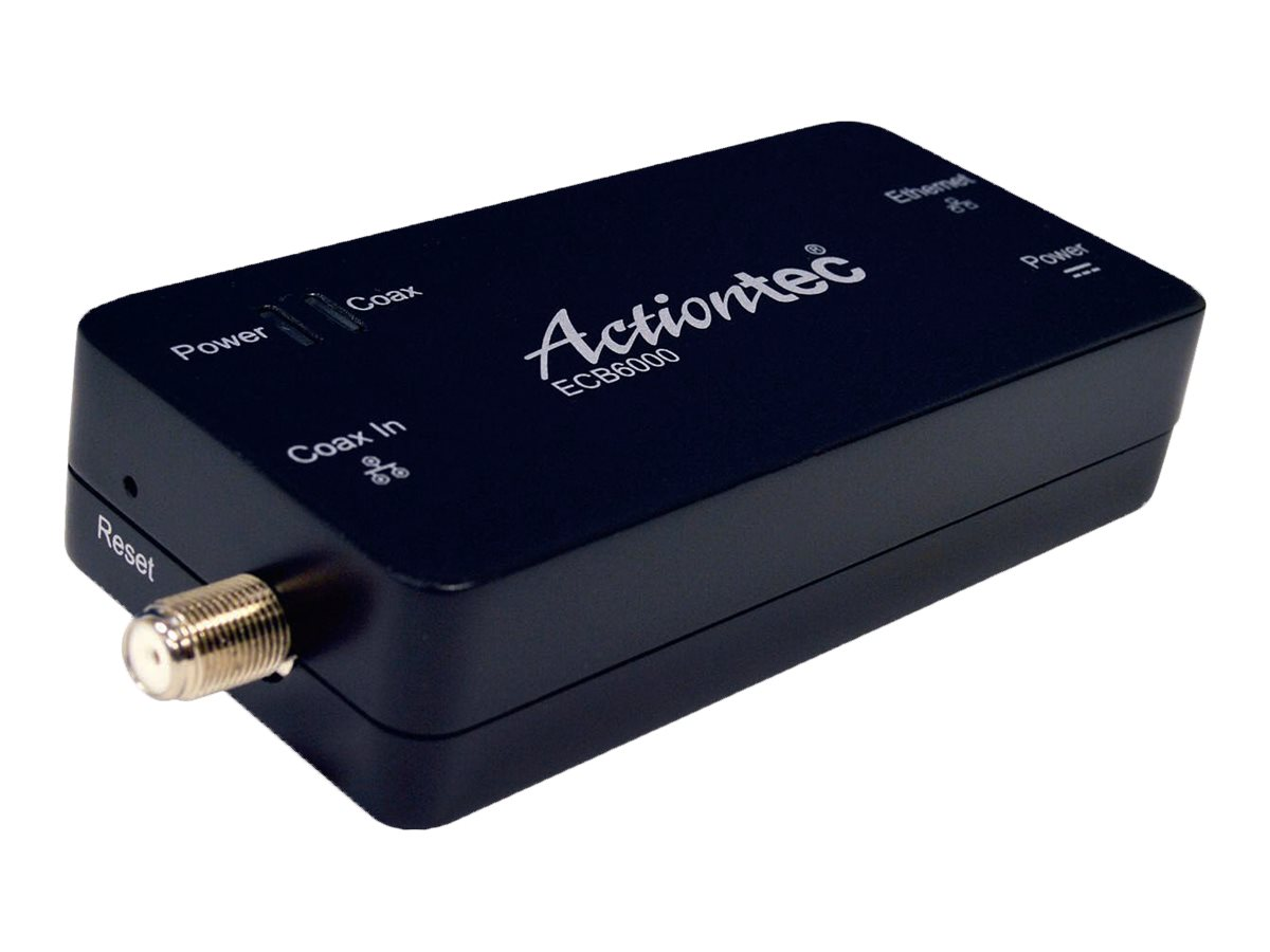 Actiontec MoCA 2.0 Ethernet Adapter, ECB6000S02