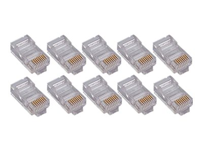 4Xem Cat6 Connectors, 50-Pack, 4X50PKC6, 16923133, Cable Accessories