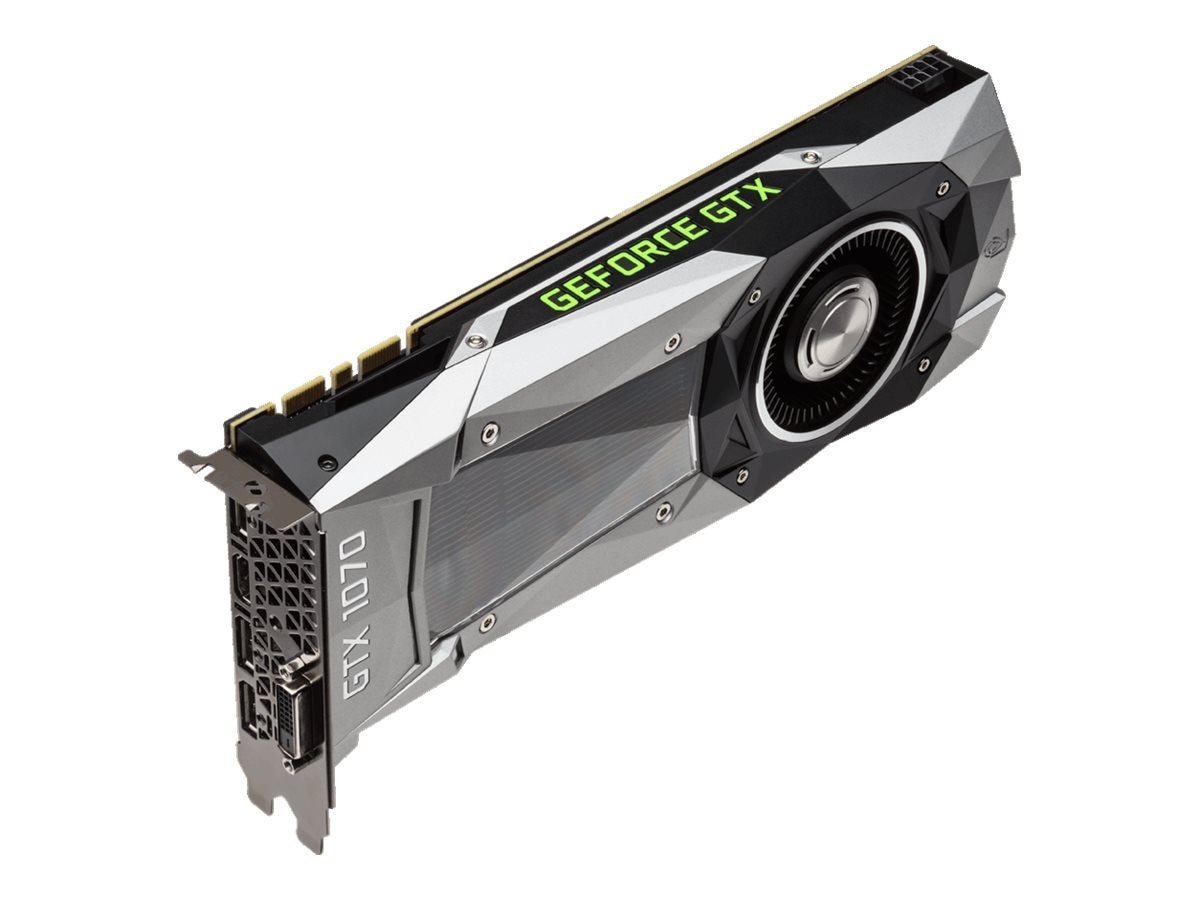 Gigabyte Tech Geforce GTX1070 8GB Founders, GV-N1070D5-8GD-B
