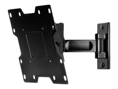 Peerless Pivot Wall Arm for 22 to 40 LCD Screens, Black