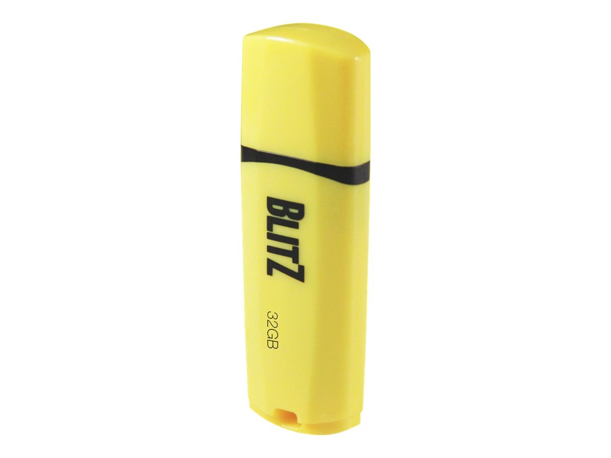 Patriot Memory 8GB Blitz USB 3.0 Flash Drive, Yellow, PSF8GBLZ3USB, 19174422, Flash Drives