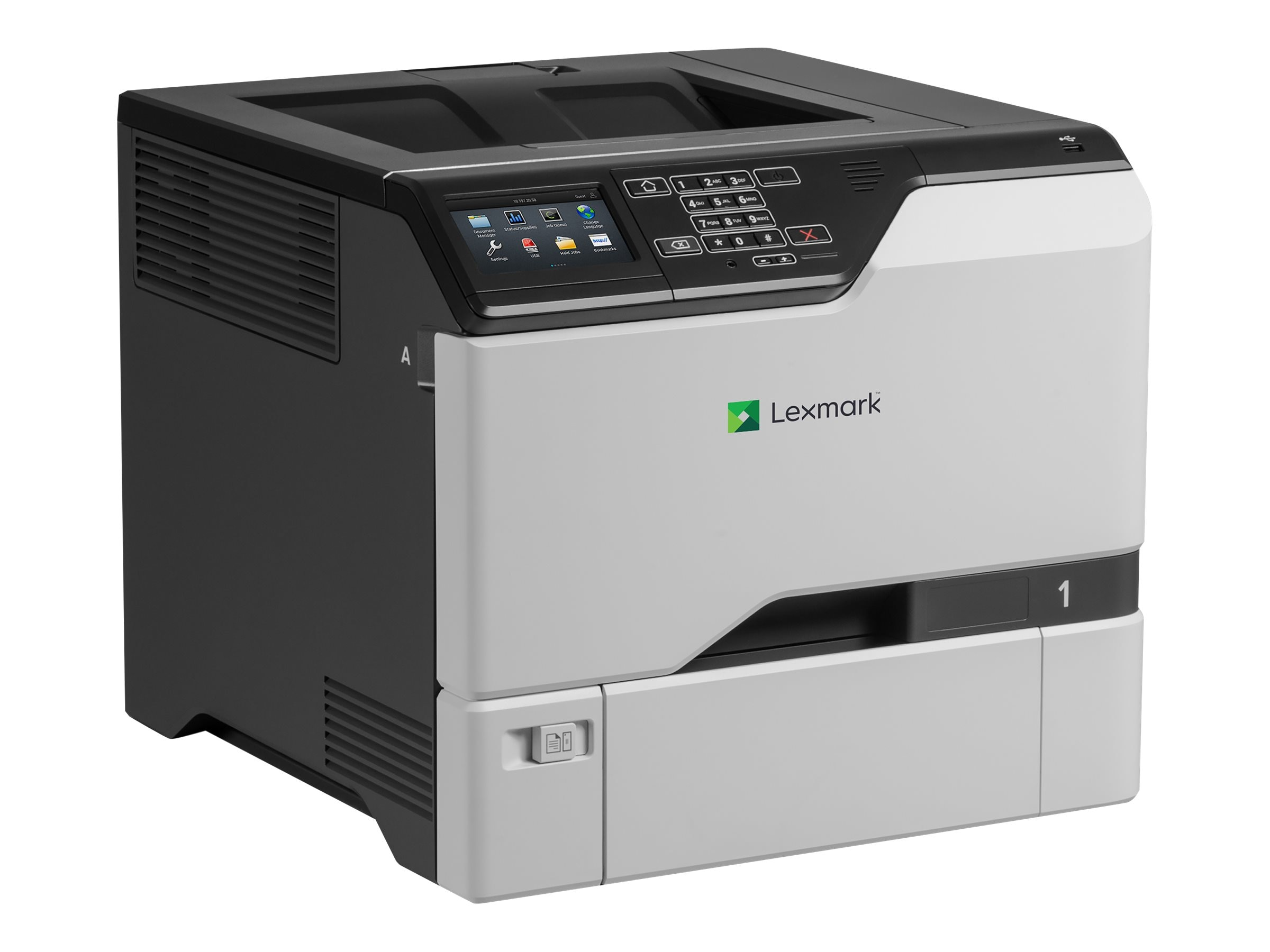 Lexmark CS725de Color Laser Printer w  CAC Enablement (TAA Compliant), 40CT022