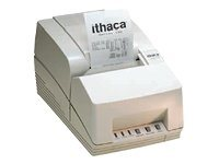 Ithaca Series 151 Parallel Receipt Printer w  Power Adapter & Auto Cutter