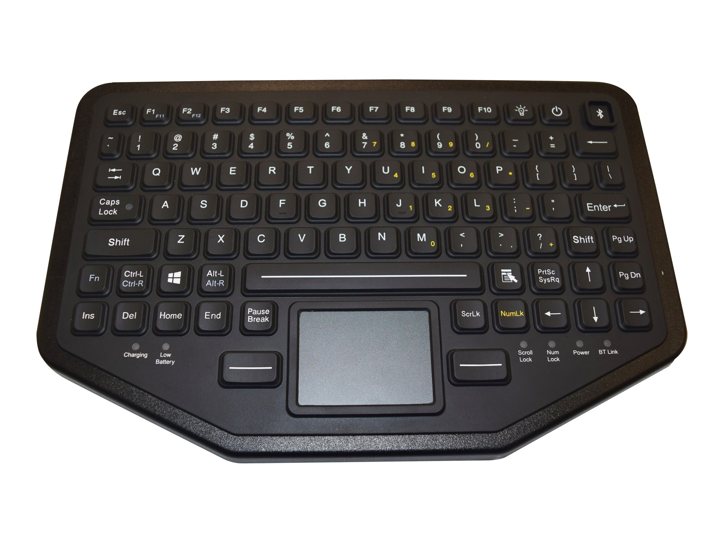 iKEY DUAL CONNECTIVITY KEYBOARD. CONNECT WITH USB OR BLUETOOTH.