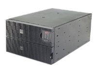APC Smart-UPS RT, 10000VA 8000W, Input 208V Output 208V, Interface Port DB-9 RS-232, RJ-45 10 100 Base-T, SURT10000RMXLT6U, 9001034, Battery Backup/UPS