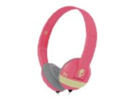 Skullcandy Uproar Headphones - Illfamed Coral Cream, S5URHT-501, 23836871, Headsets (w/ microphone)