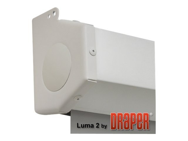 Draper Luma 2 Manual Projection Screen, Matte White, AV, 8' x 10'