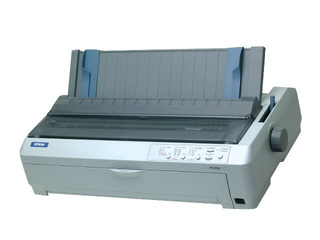 Epson FX-2190 9-pin Wide Dot-Matrix Printer, C11C526001, 461996, Printers - Dot-matrix