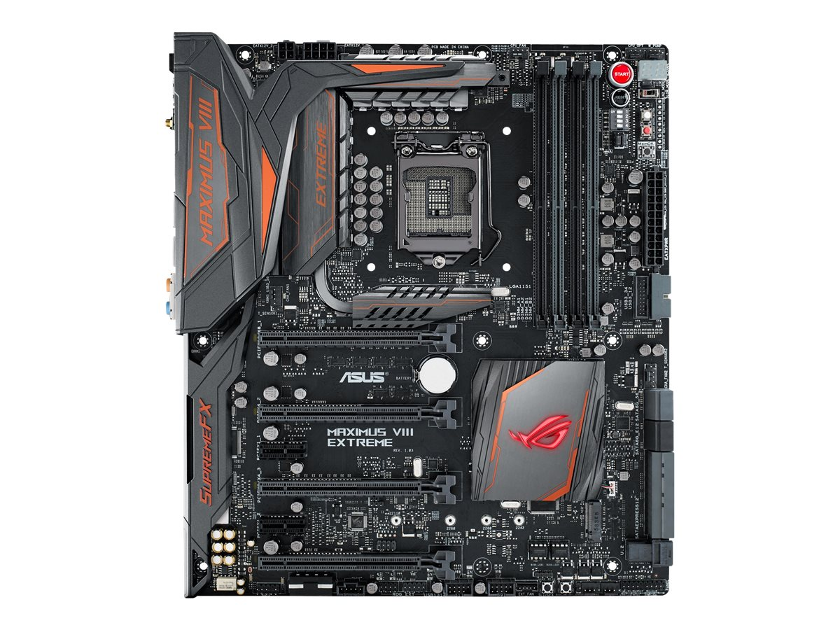 Asus Motherboard, ROG Maximus VIII Extreme Assembly Z170 1151 Core i7 i5 i3 Family Max.64GB DDR4 6xSATA