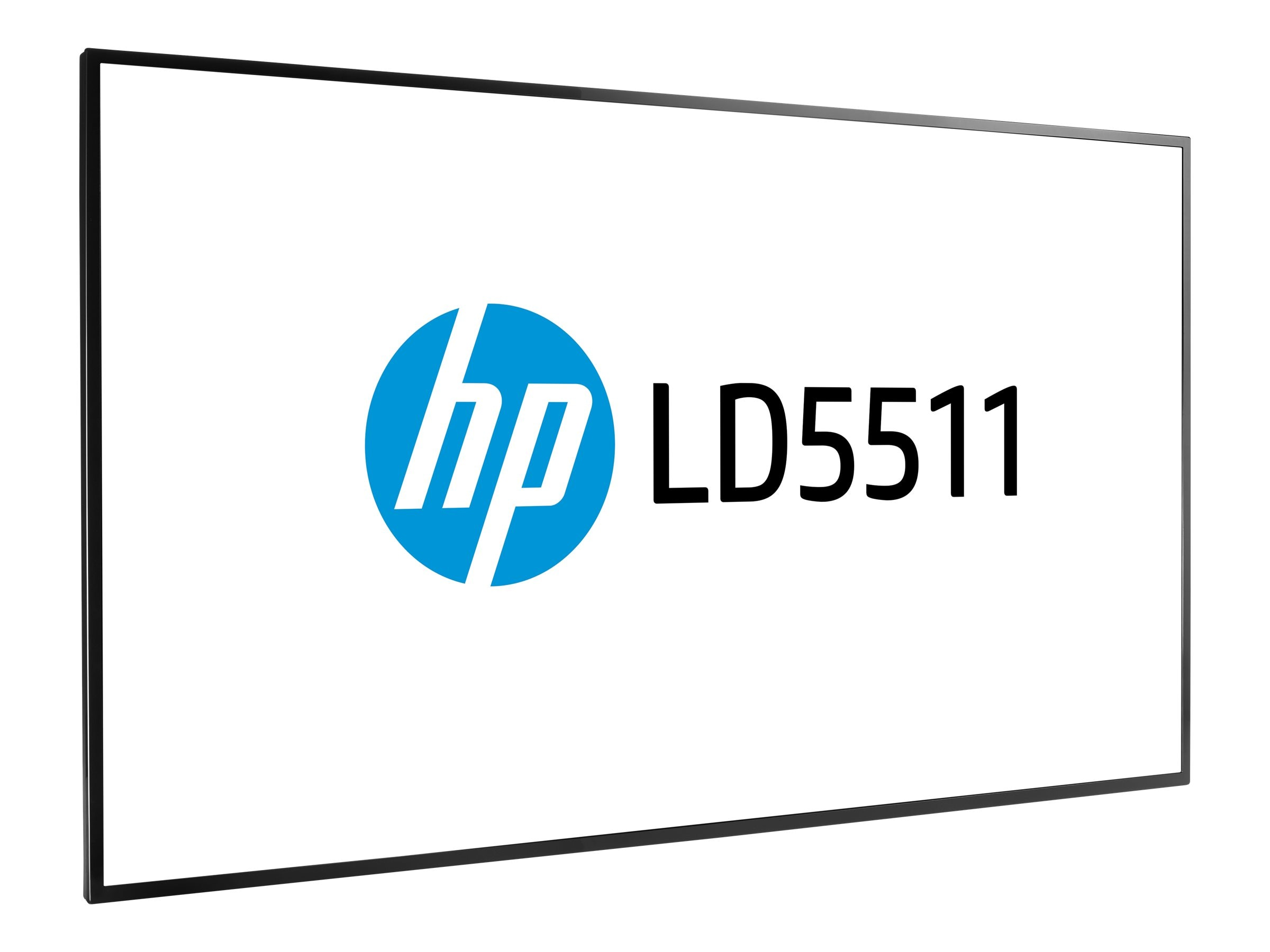 HP 54.6 LD5511 Full HD LED-LCD Display, Black, T5X84A8#ABA