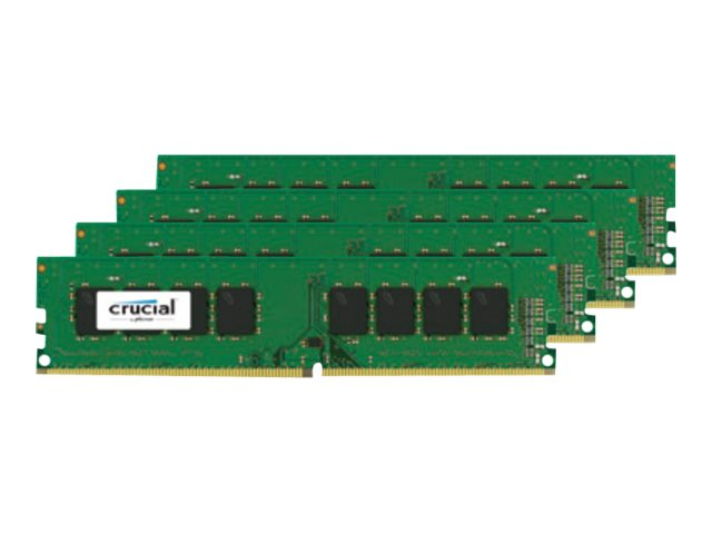 Crucial 32GB PC4-19200 288-pin DDR4 SDRAM UDIMM Kit