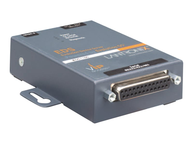 Lantronix 1-port RS232 422 485 ED1100002-01 AES SSH SSL, ED1100002-01, 11299191, Remote Access Servers