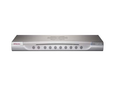 Raritan MasterConsole CAT Single user, 16-port Cat5 KVM Switch with (16) MCIM-USB Modules, MCCAT116-PAC, 8598772, KVM Switches