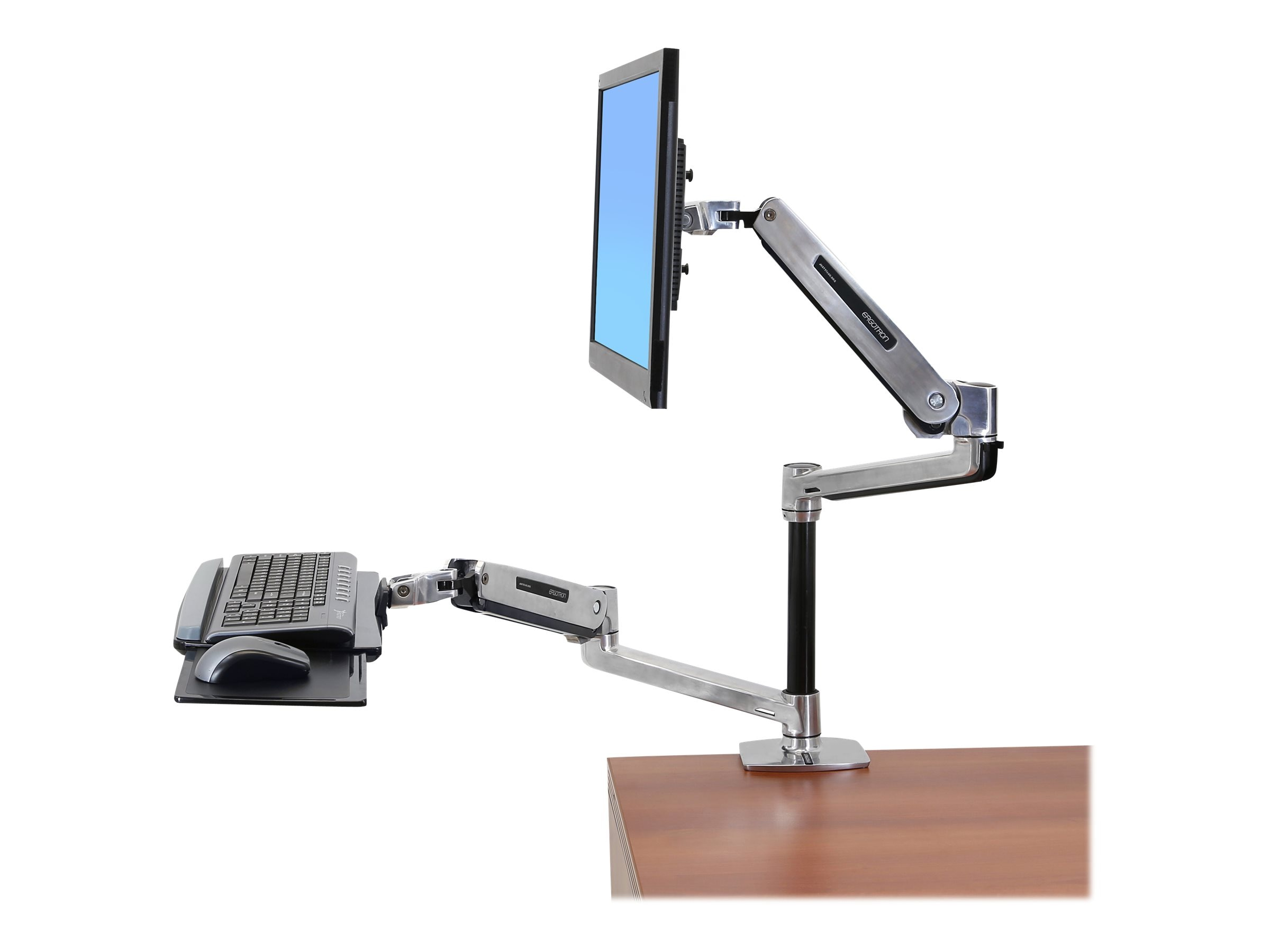 Ergotron WorkFit-LX, Sit-Stand Desk Mount System, 45-405-026, 17299061, Ergonomic Products