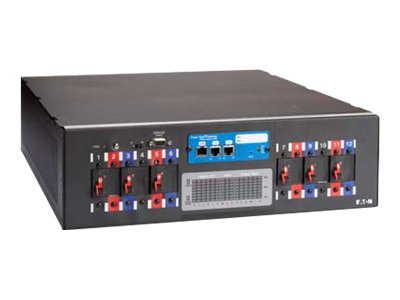 Eaton BladeUPS Rack Power Module 208V Hardwire Input (6) L6-20R Outlets, EMS, No Card, Y03100044200000, 14031377, Power Distribution Units