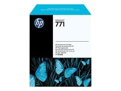 HP 771 Designjet Maintenance Cartridge, CH644A, 12163691, Ink Cartridges & Ink Refill Kits