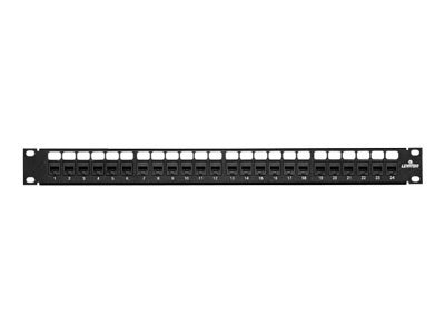 Leviton Cat6 Patch Panel, 24-Port, 69270-U24, 9534560, Patch Panels