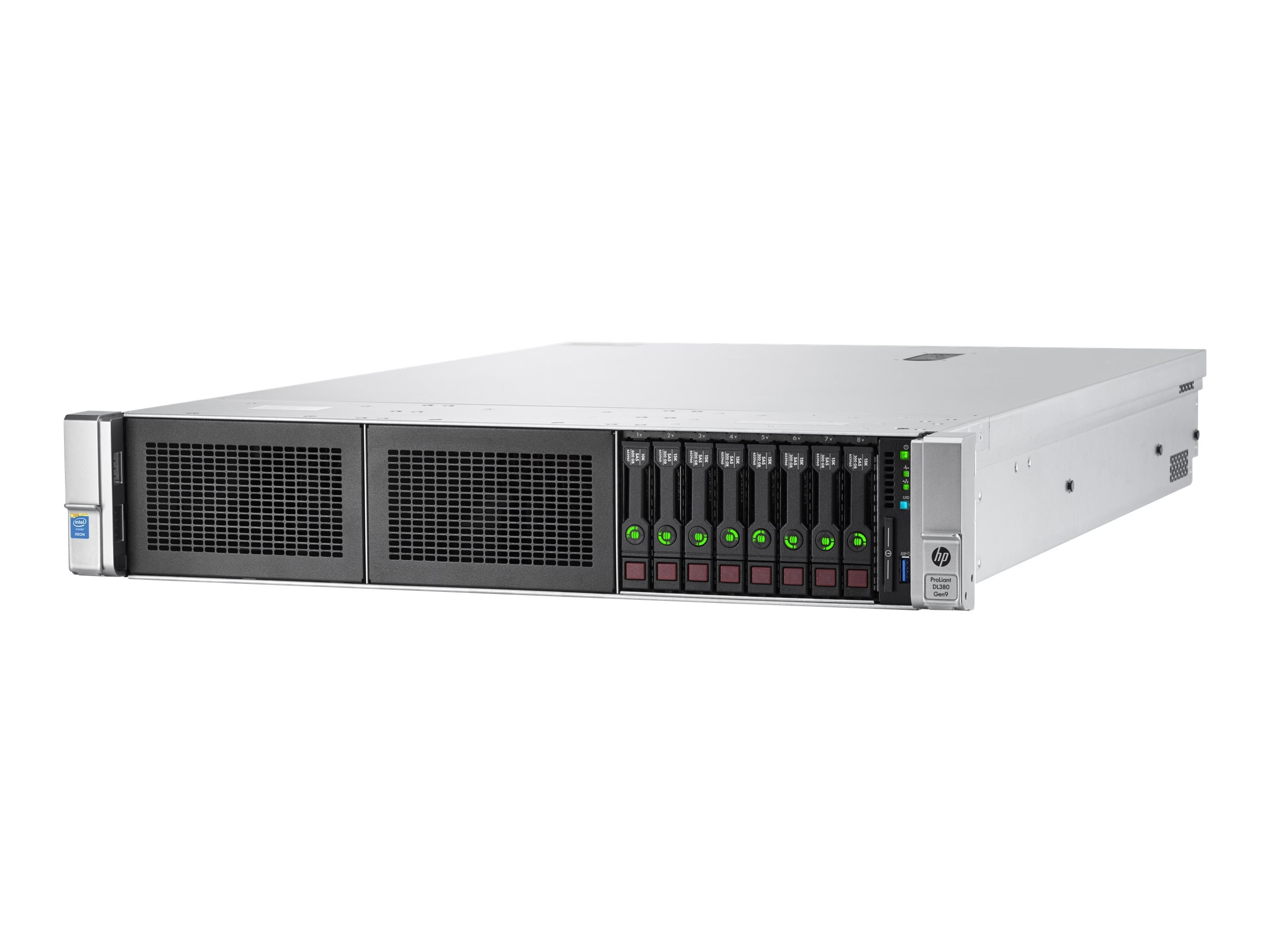 HPE ProLiant DL380 Gen9 Intel 2.6GHz Xeon, 800077-S01, 18107025, Servers