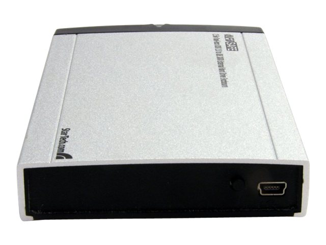 StarTech.com 2.5 Tool-less USB 2.0 to IDE SATA External Hard Drive Enclosure, UNI2510U2V
