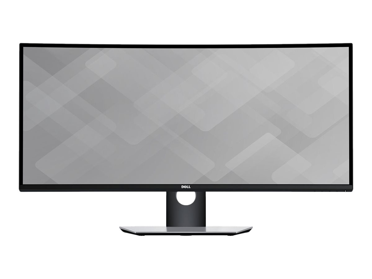 Dell 34 U3417W WQHD LED-LCD Ultrawide Curved Monitor, Black, U3417W