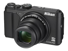 Nikon COOLPIX S9900 Digital Camera, Black, 26497, 32555342, Cameras - Digital