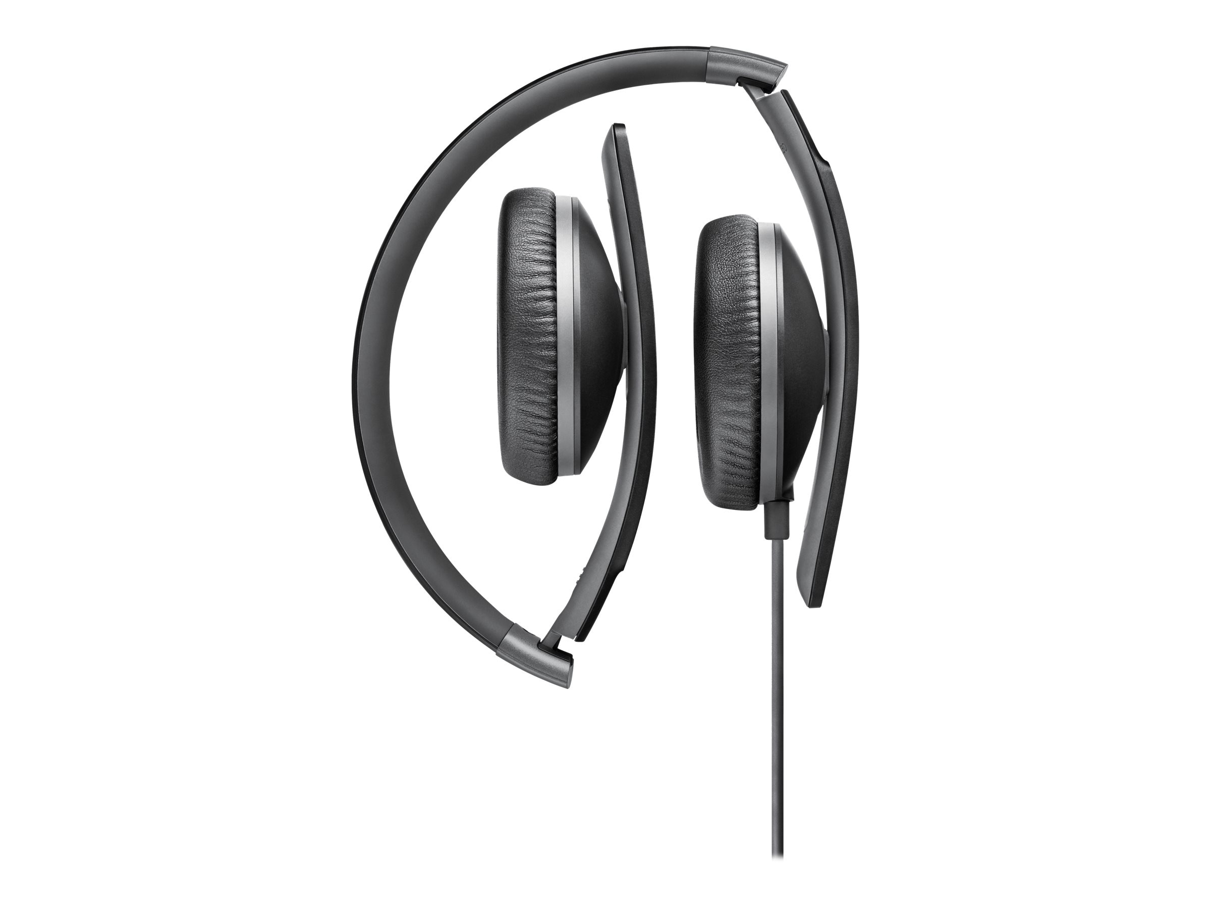 Sennheiser Closed Back On Ear Headphones - Black, HD 2.30 G BLACK