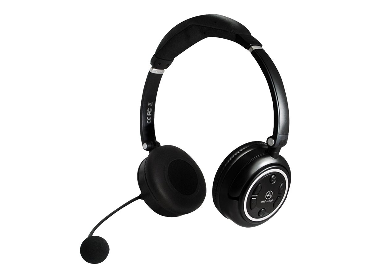 Andrea Electronics Wireless Stereo Headset, WNC-1500, 17106240, Headsets (w/ microphone)