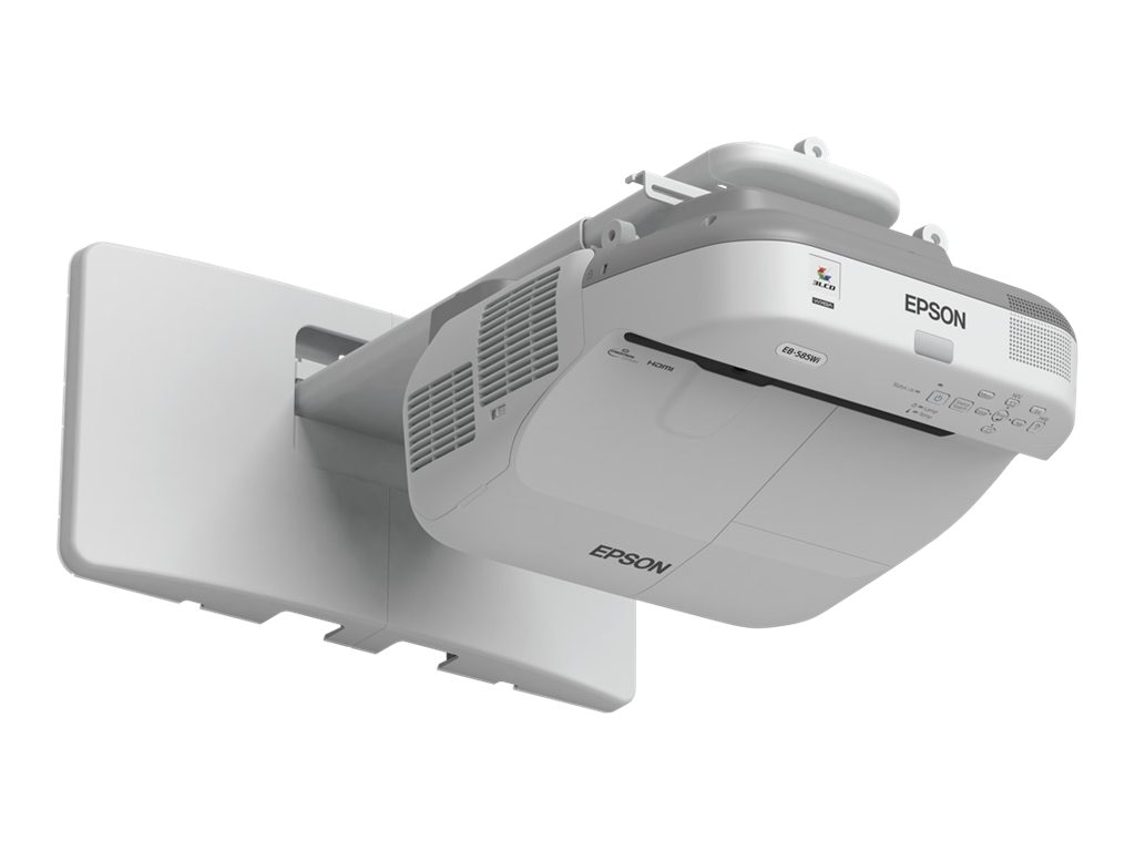 Epson BrightLink 585Wi Interactive WXGA 3LCD Projector, 3300 Lumens, White, V11H600022