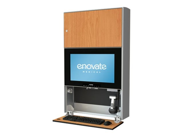 Enovate E750 Wall Station with eSensor System and eLift, Port Maple