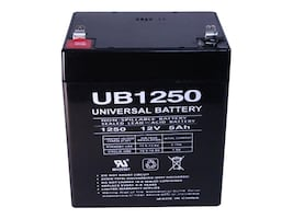 Ereplacements SLA Batttery for APC, UB1250-F2-ER, 33429073, Batteries - Other
