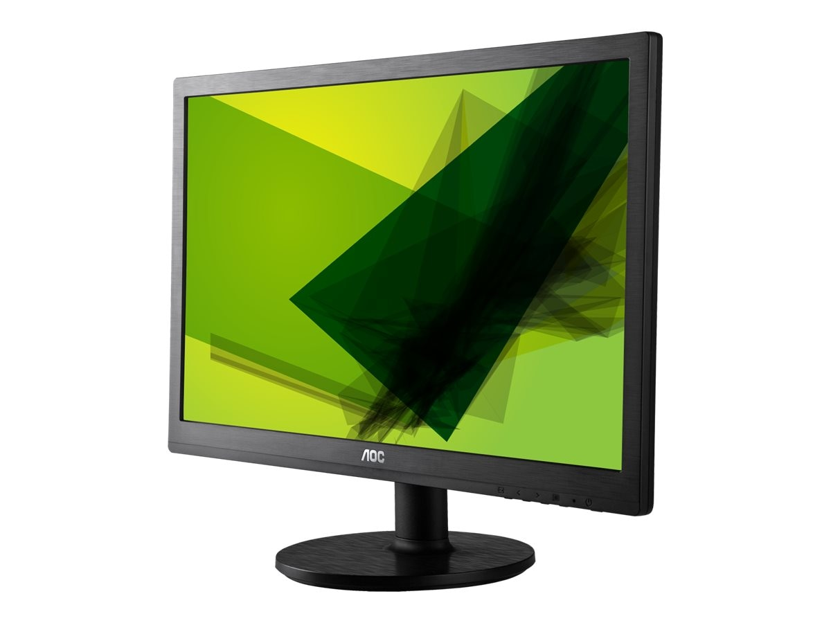 AOC 24 E2460SWHU LED-LCD Full HD Monitor, Black, E2460SWHU