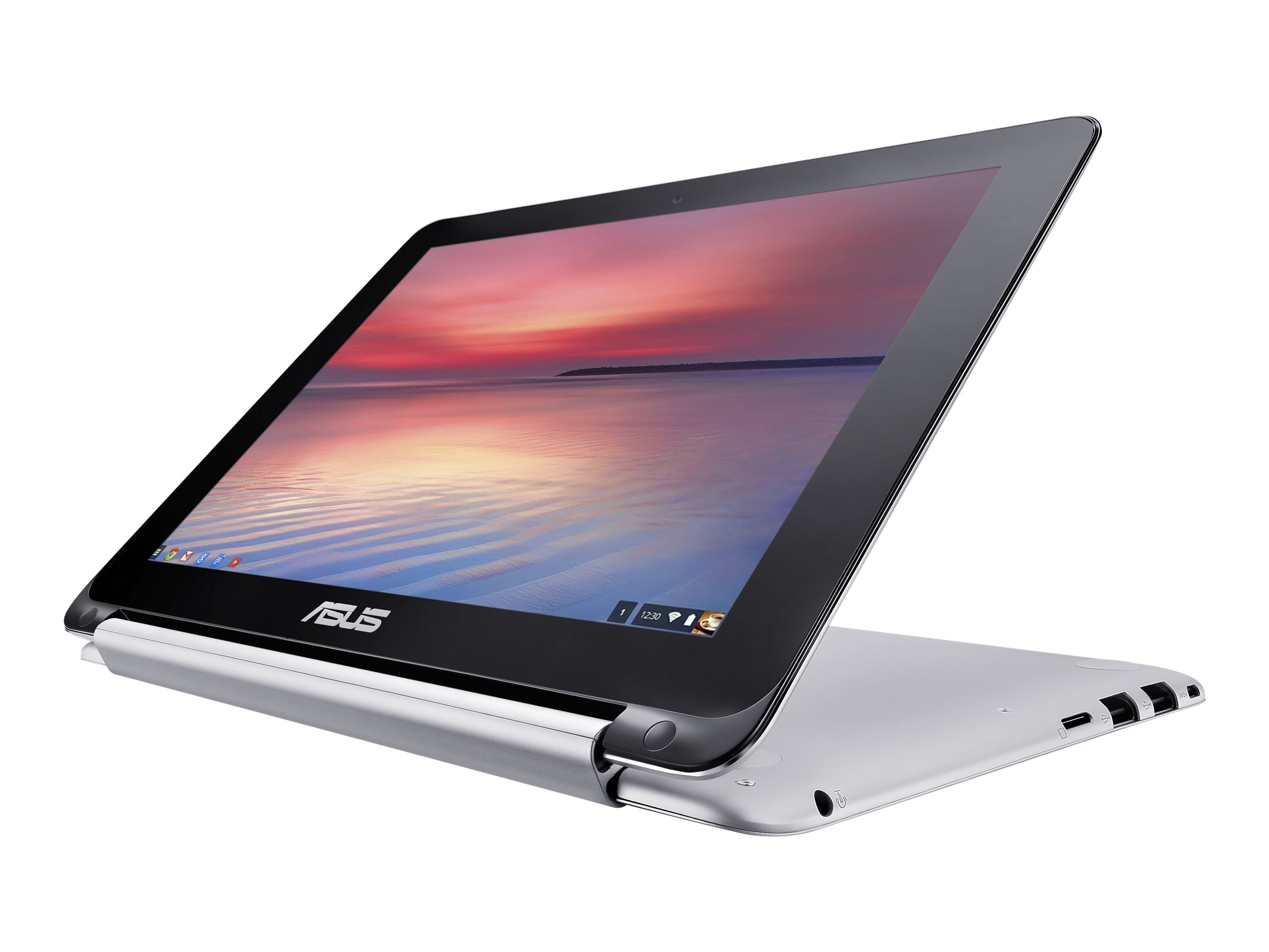 Asus EeeBook 2GB 16GB SSD 10.1 Touch Chrome Silver, C100PA-DB01, 24747811, Notebooks