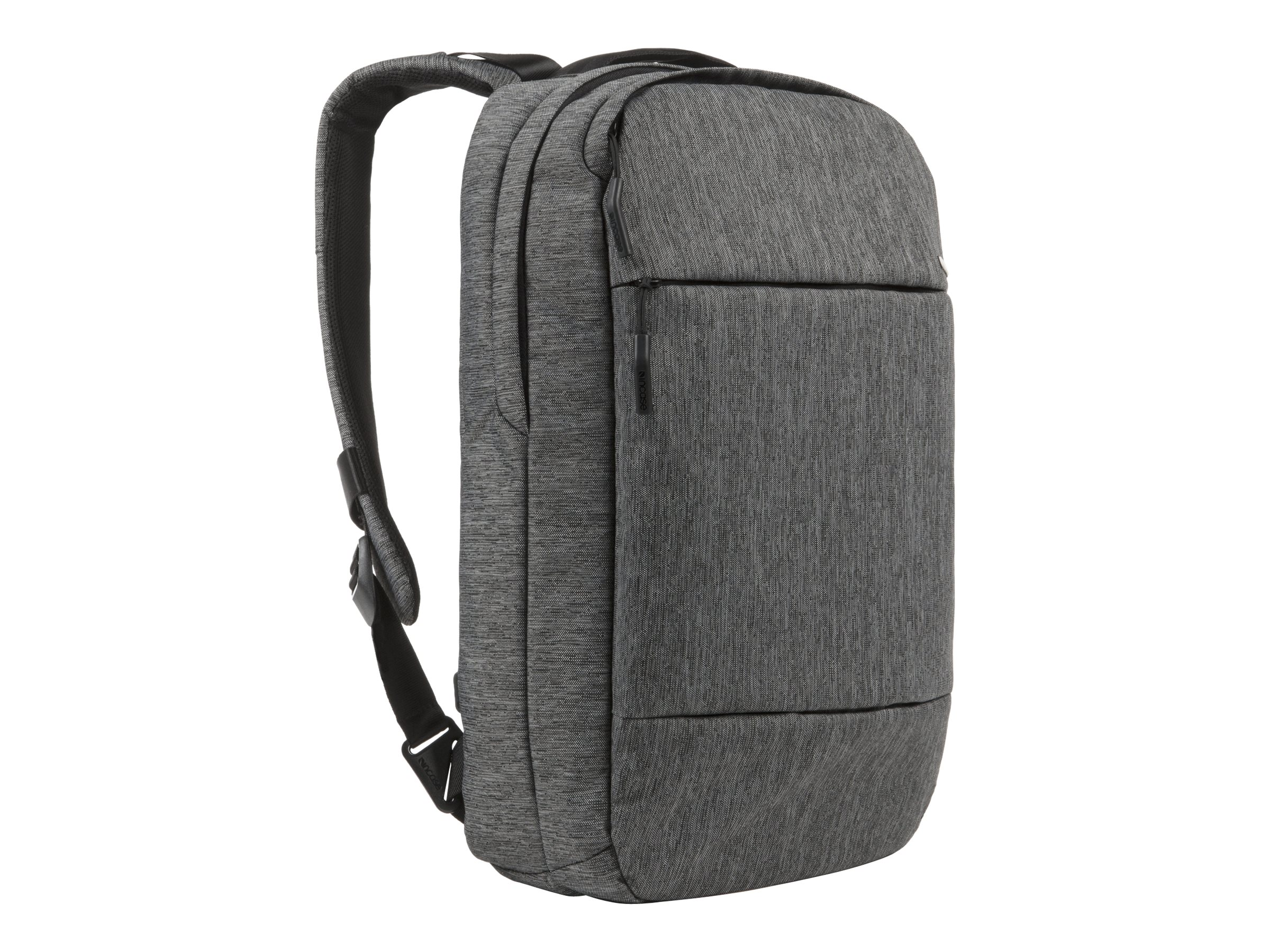 Incipio Incase City Compact Backpack, Heather Black Gunmetal Gray