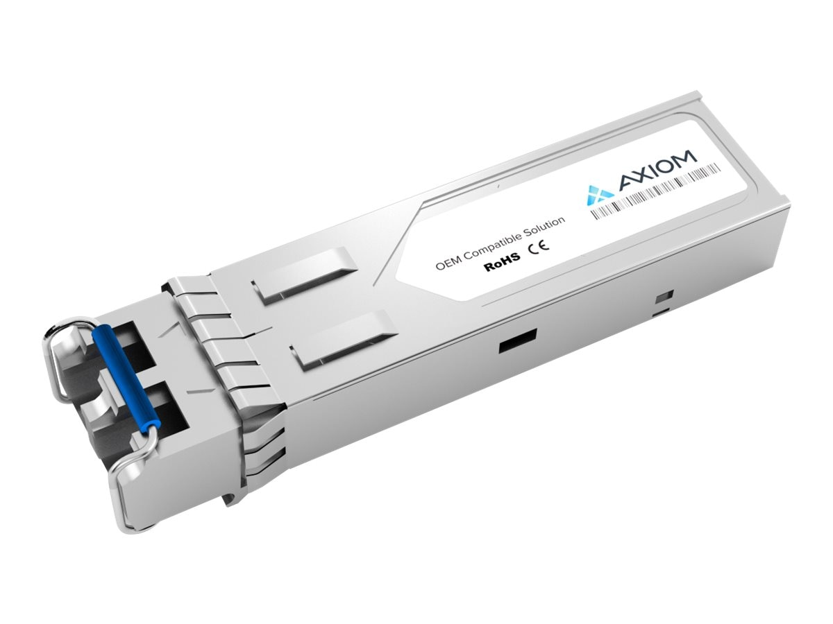 Axiom 1000BASE-BX-U SFP Bi-Directional Transceiver for Juniper, SFPGE10KT3R4-AX