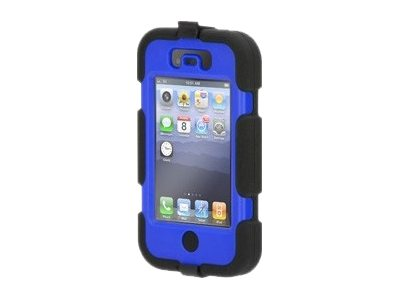 Griffin Survivor Rugged case for iPhone 4s, Black Blue, GB35357-2, 16078401, Carrying Cases - Phones/PDAs