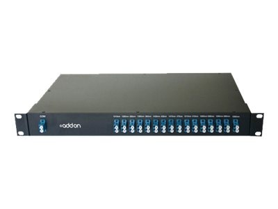 ACP-EP 16-Channel Mux Demux CWDM Module LC 1260NM To 1610NM 19IN Rack Mount, ADD-CWDMMUX16-LC, 18393076, Multiplexers